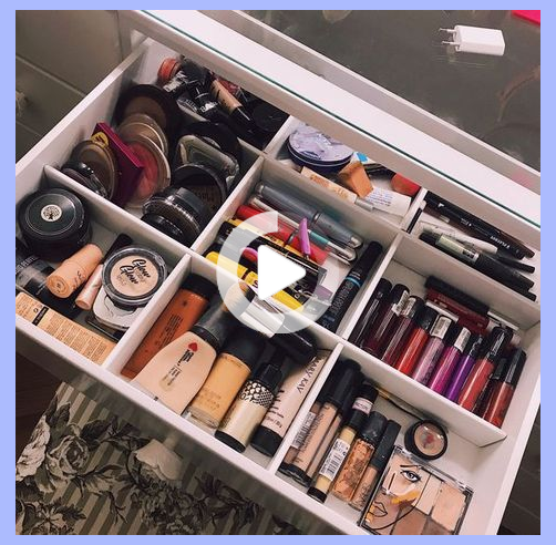 62+ New Ideas For Makeup Storage Diy Organizers Room Organization #makeupstoragediy