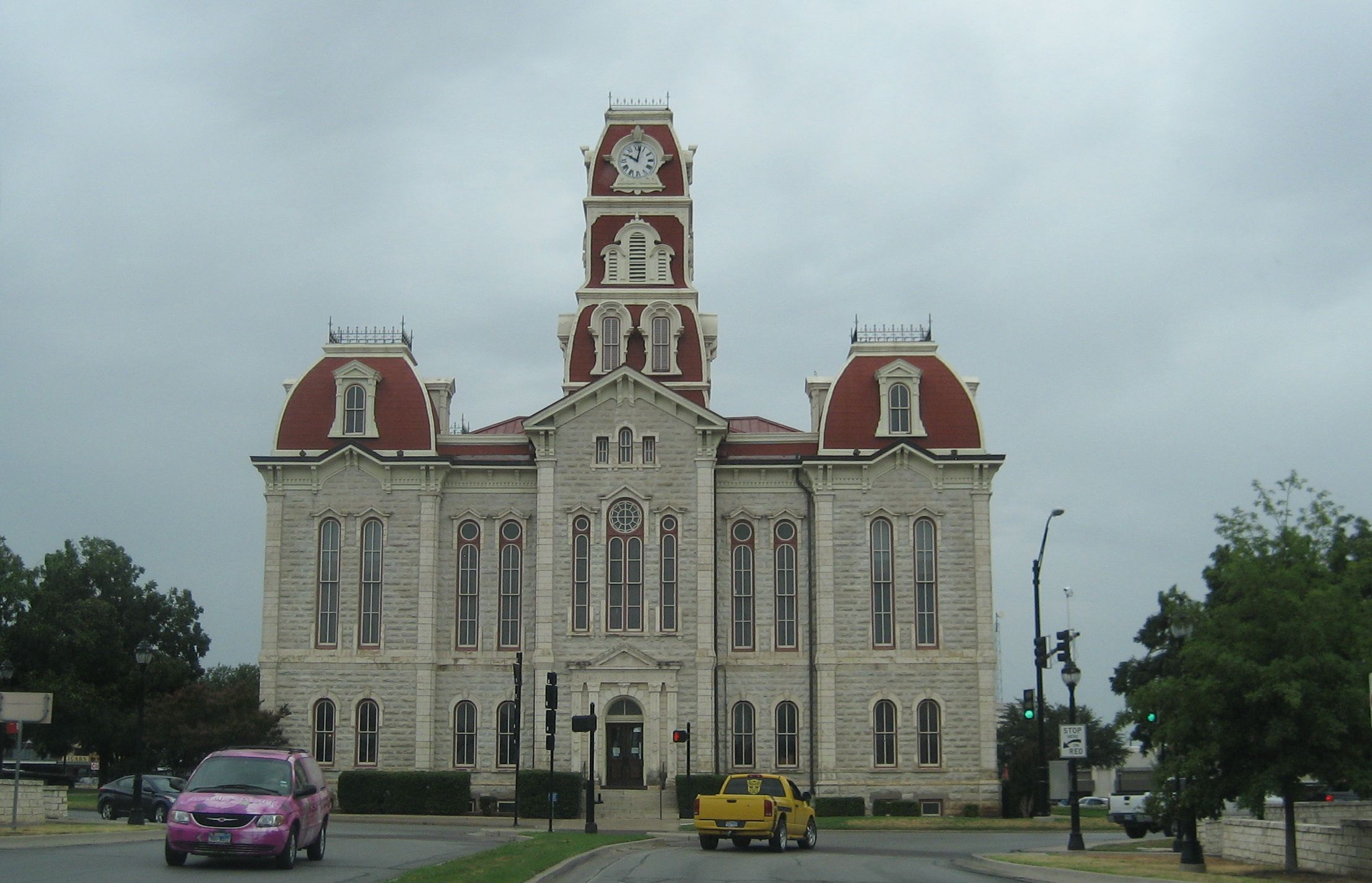 Weatherford, Texas court