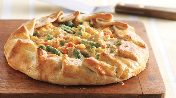 Rustic chicken pot pie grandparents chicken pinterest rustic chicken pot pies this simple pot pie recipe features an easy hand formed crust filled with chicken mashed potatoes and veggies forumfinder Image collections
