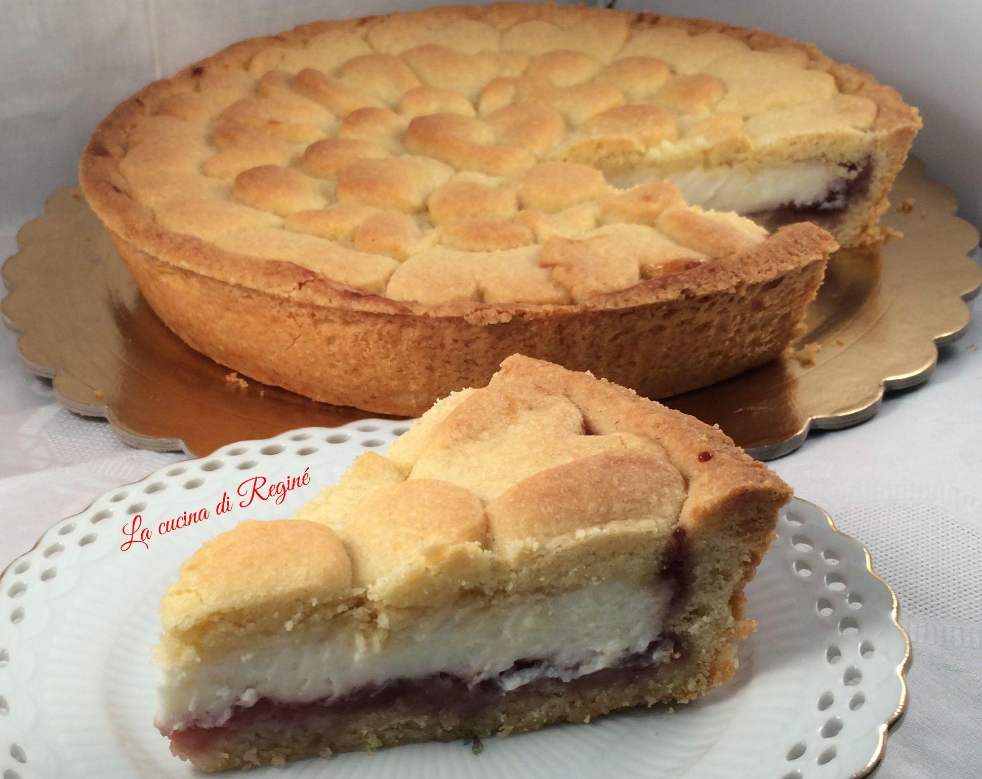 Ricetta torta soffice allo yogurt e marmellata