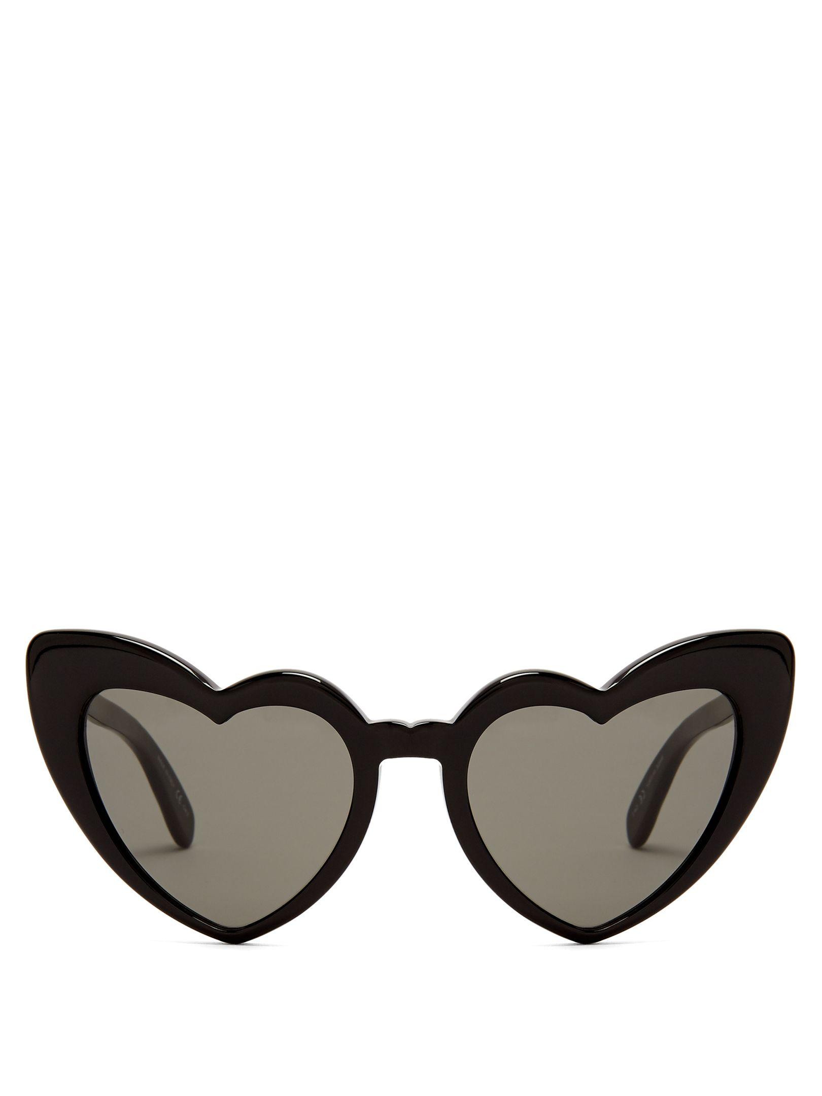 c52f1fea83c62 Saint Laurent Loulou heart-frame acetate sunglasses