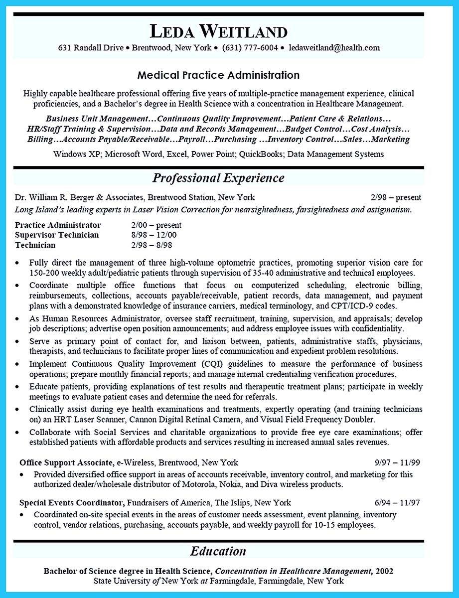 Nice Impressive Professional Administrative Coordinator Resume