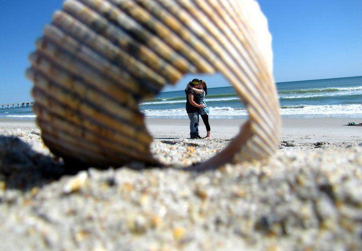 Really cool idea | Beach photography, Creative photography