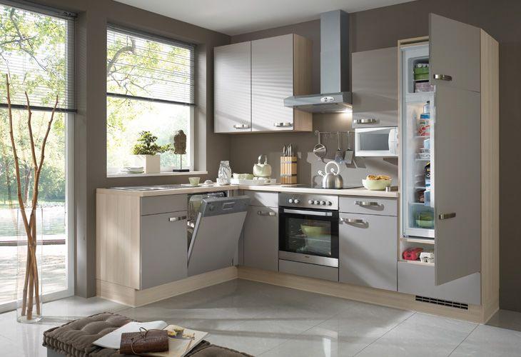 Graue Küche / grey kitchen For Home Pinterest Gray kitchens