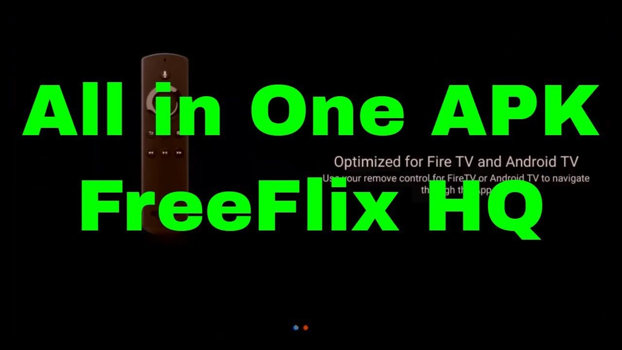 All in One APK for Movies, TV Shows, and Live TV! FreeFlix