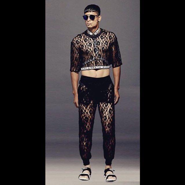 ✖️ THE LACE BOY ✖️ #rubengalarreta #galarretaboy #galarreta #black #croptop #croptopformen #harness #galarretagarness #harnesslove #men #man #guy #boy #hot #dope #cool #sick #style #stylist #stylish #fashion #menswearm #mensfashion #menstyle #thegypsyarmy #gypsyarmy #myarmy ✖️❤️✖️
