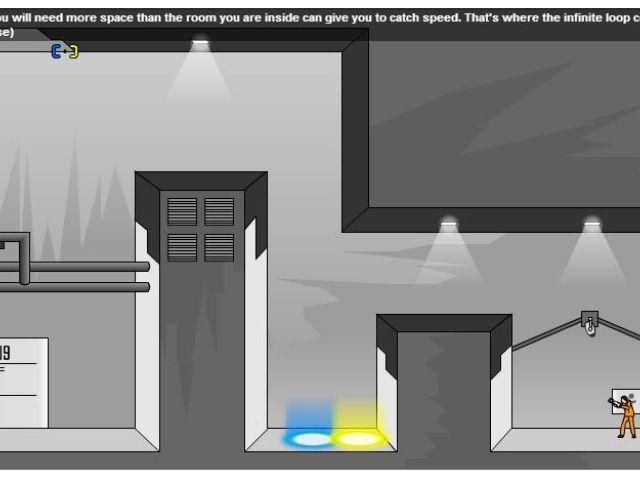 portal 2 flash game