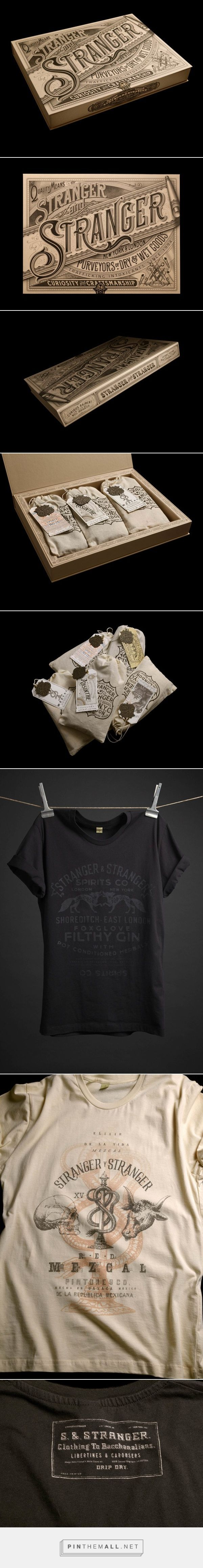 T shirt design app for ipad - Vintage T Shirt Packaging Design By Stranger Stranger