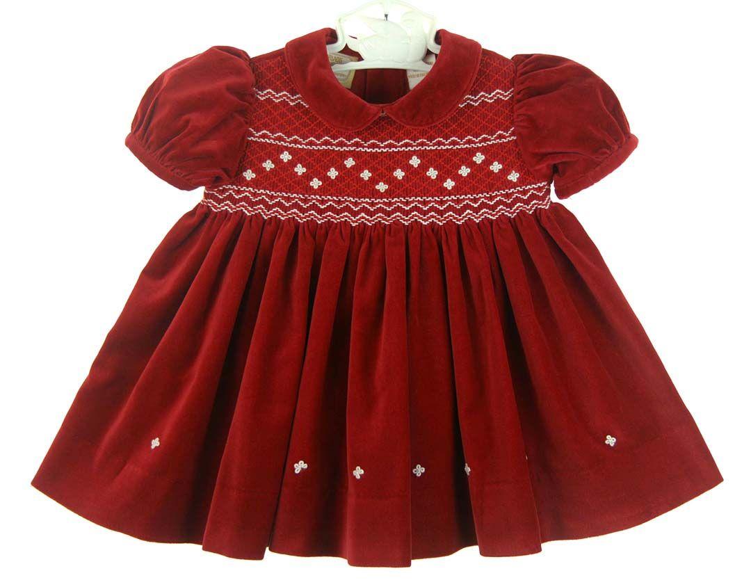 Park Art My WordPress Blog_Smocked Christmas Dress 3 Month