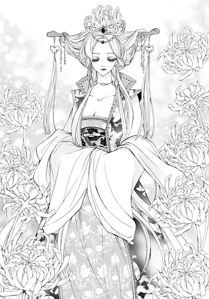 Sizh S Art Anime Manga Adult Coloring Möhre S Ausmalbilder Für