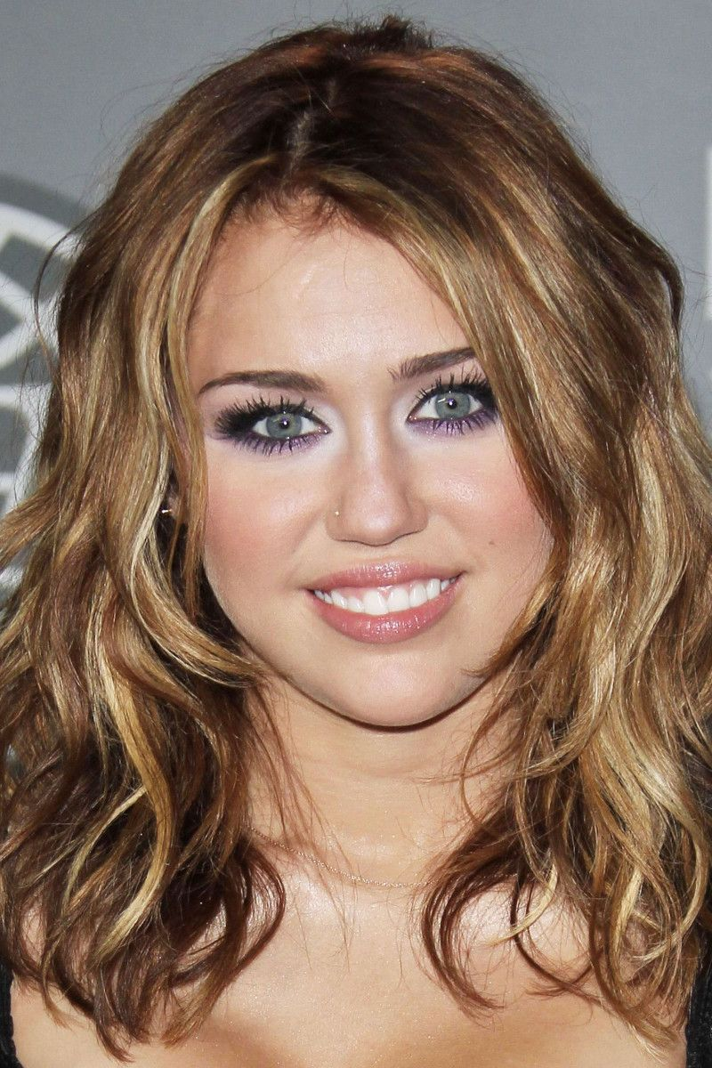 Miley Cyrus Before And After Curly Hair Styles Naturally Medium Hair Styles Miley Cyrus Hair