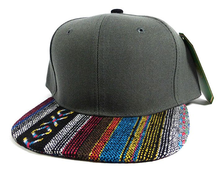 5cb60b60 Wholesale Aztec Native Blank Snapbacks Caps - Dark Grey in 2019 ...