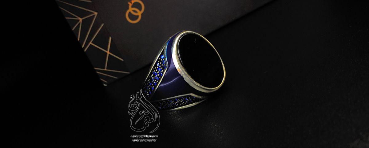 خواتم فضة رجالي خاتم جديد صنعاء