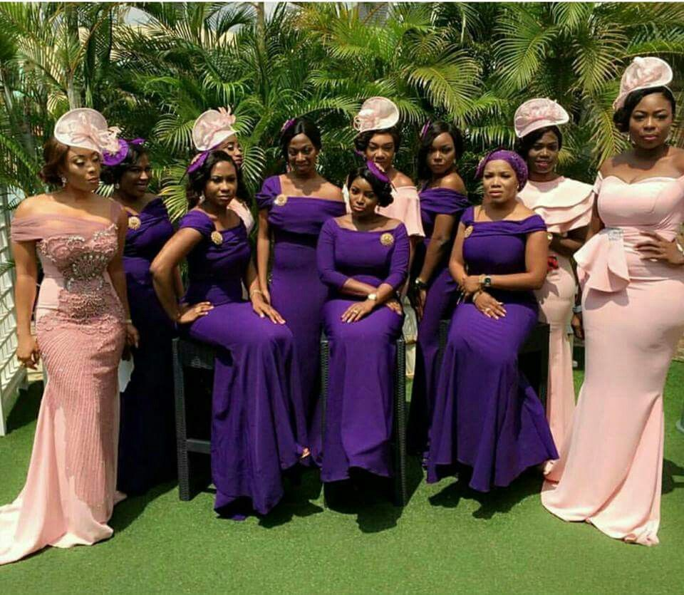 Pinterest Badgalronnie African Bridesmaid Dresses African Wedding Attire African Bridesmaids