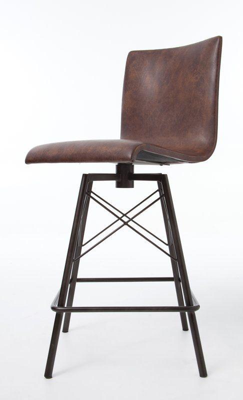 Pleasant Clovis Swivel Bar Stool Reviews Allmodern Furniture In Short Links Chair Design For Home Short Linksinfo