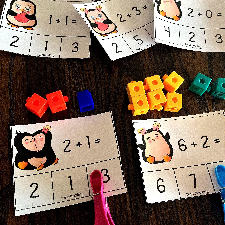math card games for kindergarten