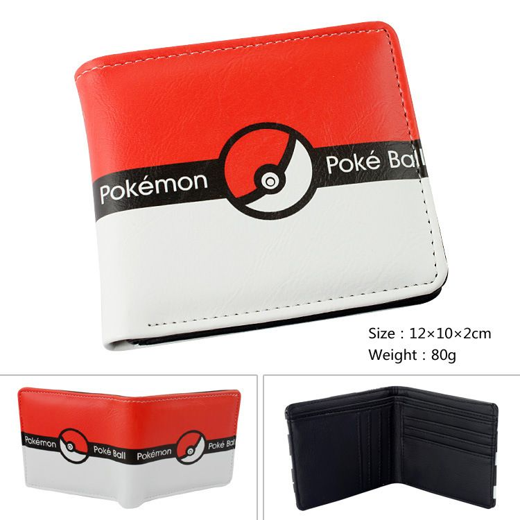 Pokemon Pokeball Logo Bi-Fold Wallet