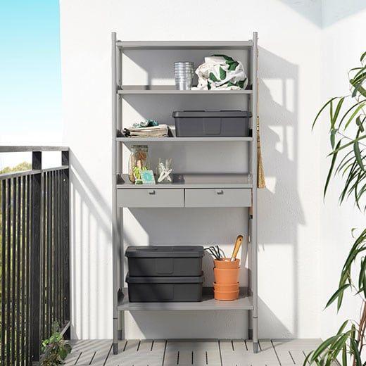Box, KLÄMTARE Ikea, Aufbewahrung garten, Haus zubehör