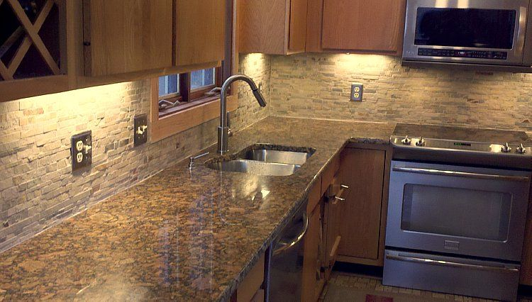 granite kitchen countertops michigan - one low square foot price