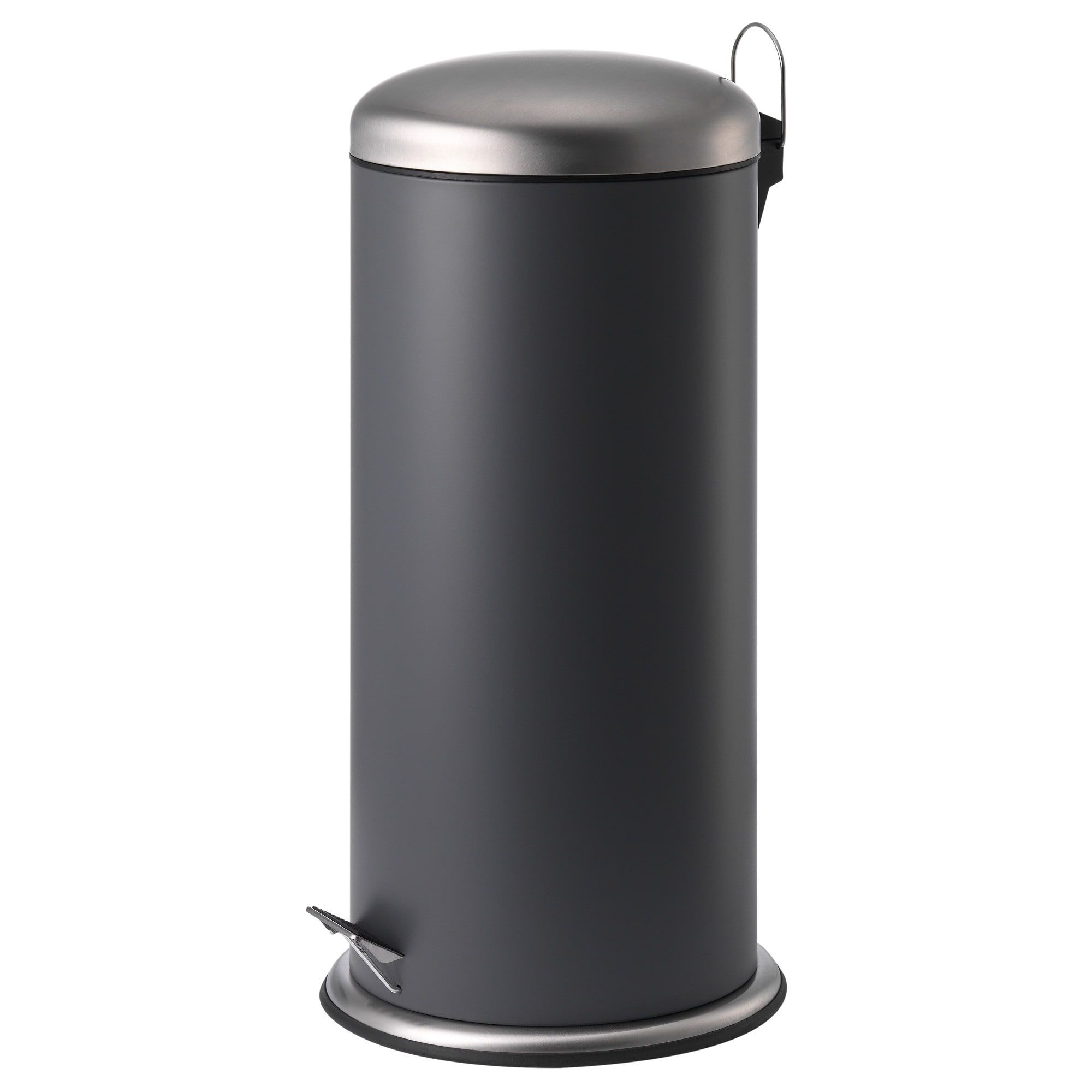 Mjosa Pedal Bin Dark Gray 8 Gallon Ikea Wash Basin