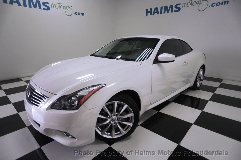 2013 Infiniti G37 Convertible 2dr 15812469 (With images