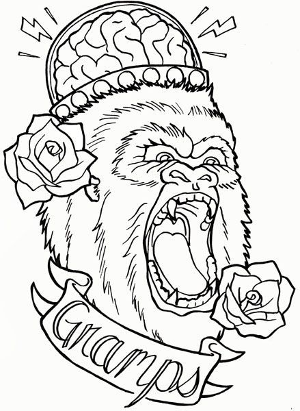 tattoo coloring book project - Tattoo Coloring Books