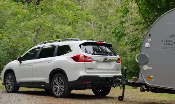 Sierra Teardrops Our Sofitel T B Is In A Subaru Ascent Commercial Subaru Camper Rental Commercial