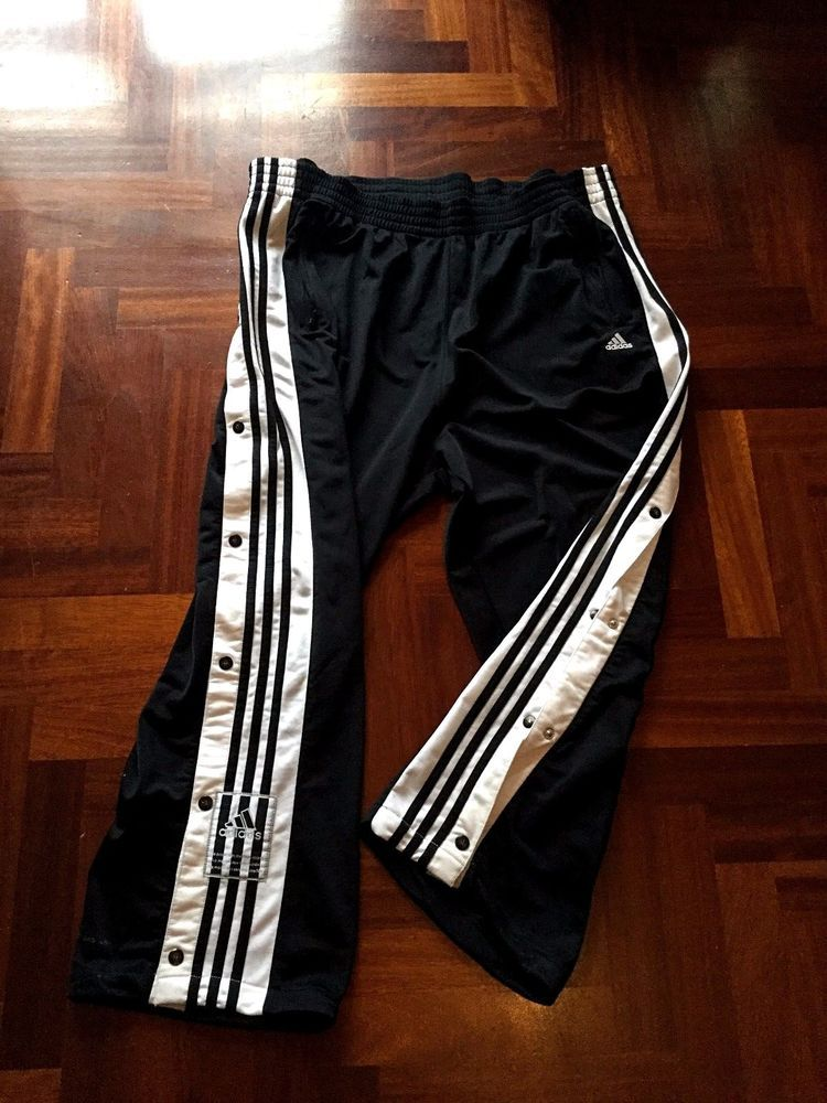Dettagli su ADIDAS PANTALONE PANTS ADIBREAK BOTTOM POPPER