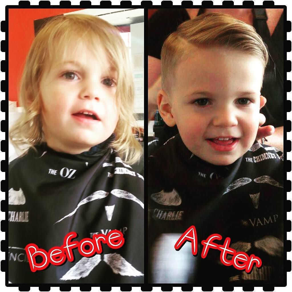 Before After Shoot Of My Sweet Boys 1st Haircut Love Being Able