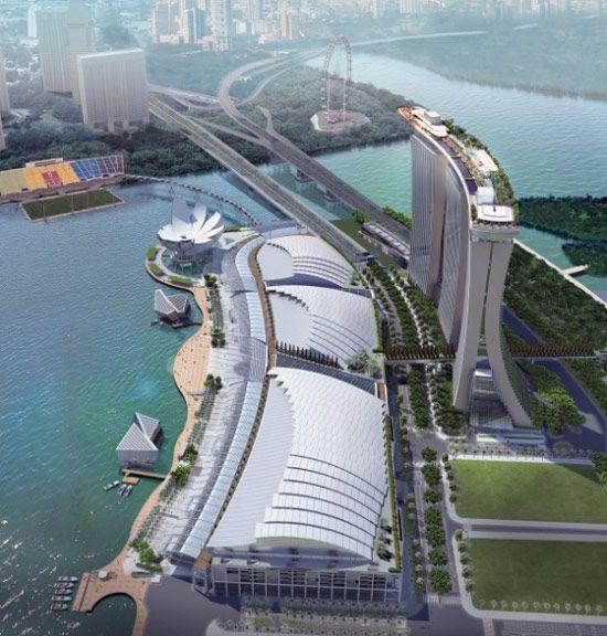 Marina Bay Sands Skypark Opens Marina Bay Sands Wonders Of The World Sands Singapore