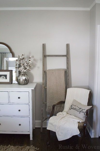 The found ladder beautiful bedroom ideas home decor for Decor ladder house