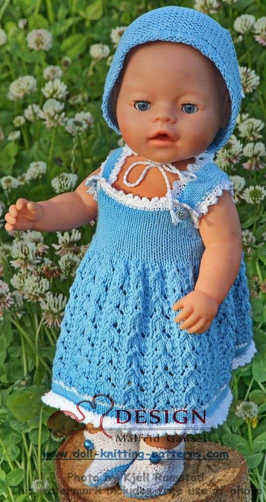 Målfrid Gausels dukkestrikk | dolls clothes | Pinterest | Muñecas ...