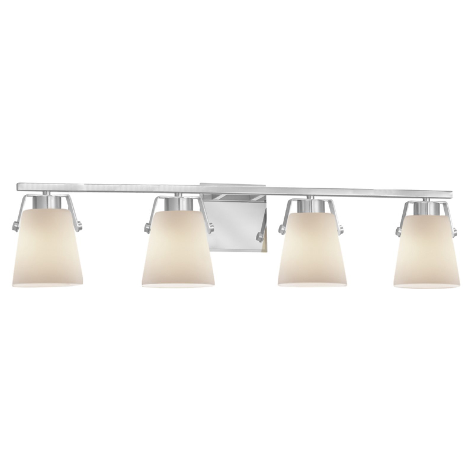 Justice Design Fusion Nexus 4 Light Bathroom Vanity Light