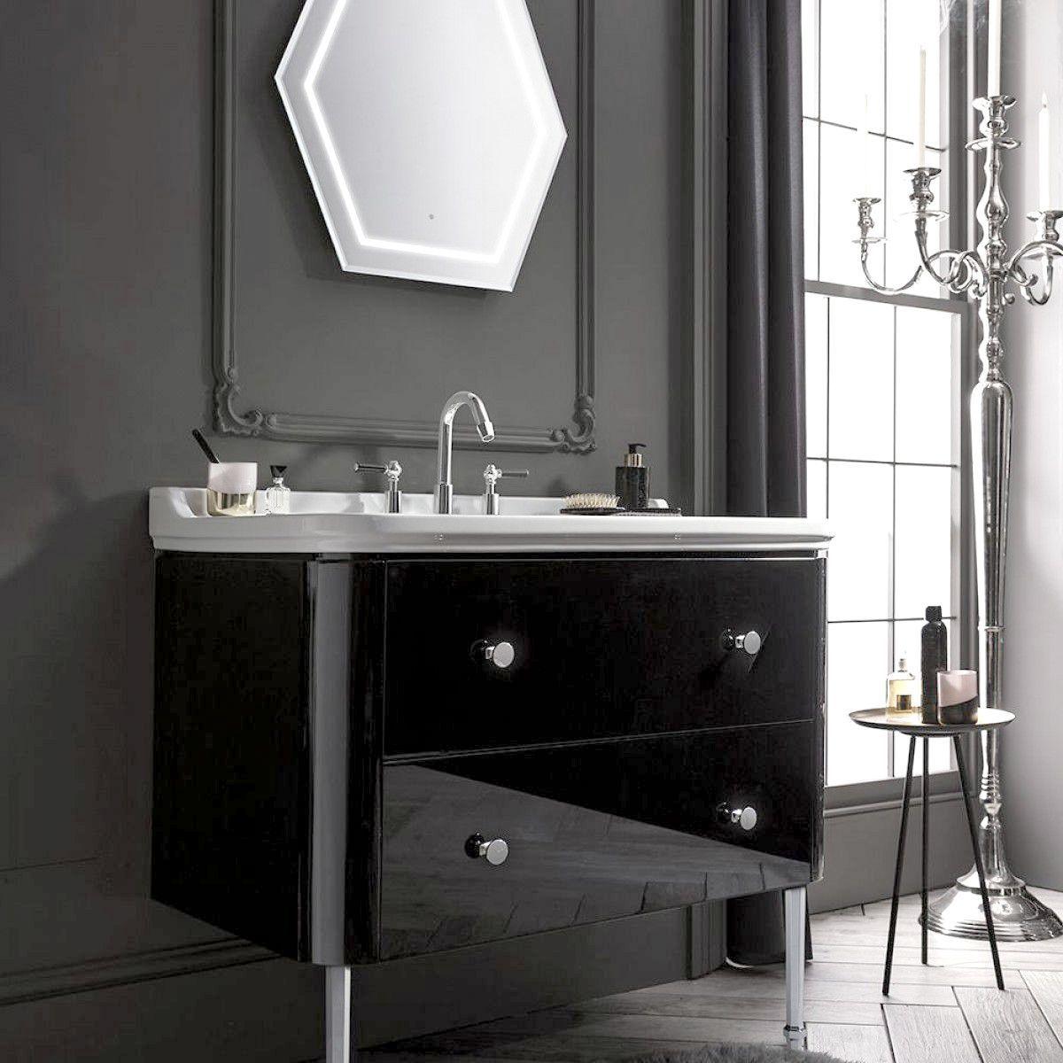 Crosswater (Bauhaus) Waldorf Vanity Unit with Legs Basin