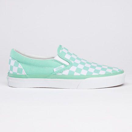 Shopping \u003e mint green checkered vans