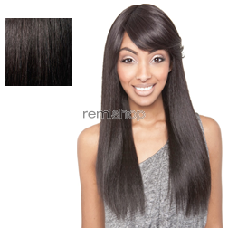Brown Sugar Soft Swiss Lace BS402 - Color 1B - Blend Swiss Lace Front Wig