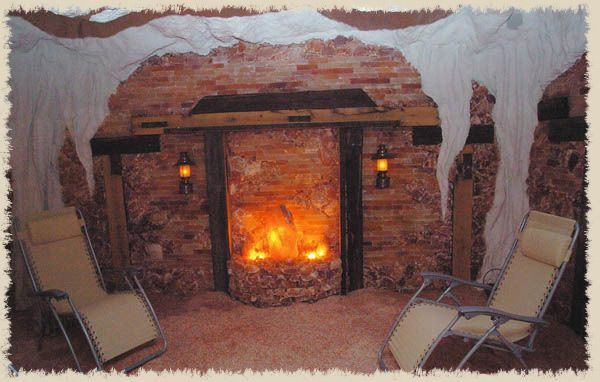 Someday very soon in fact.....Ten dollars for 45 minutes in this salt cave.......can you say relaxing????