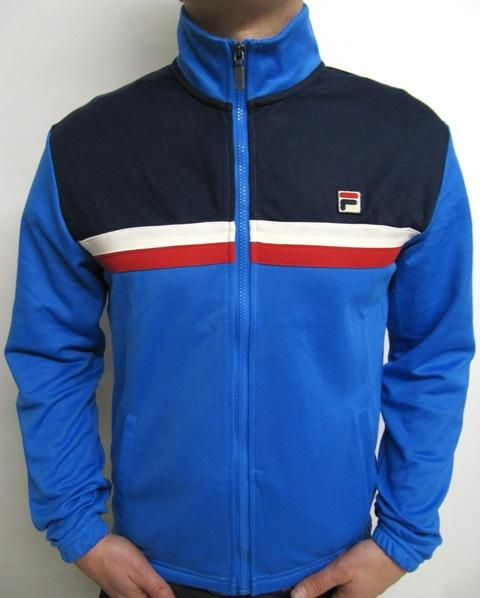 Fila Vintage - Bowbreaker Track Top in French Blue fc1303072b4