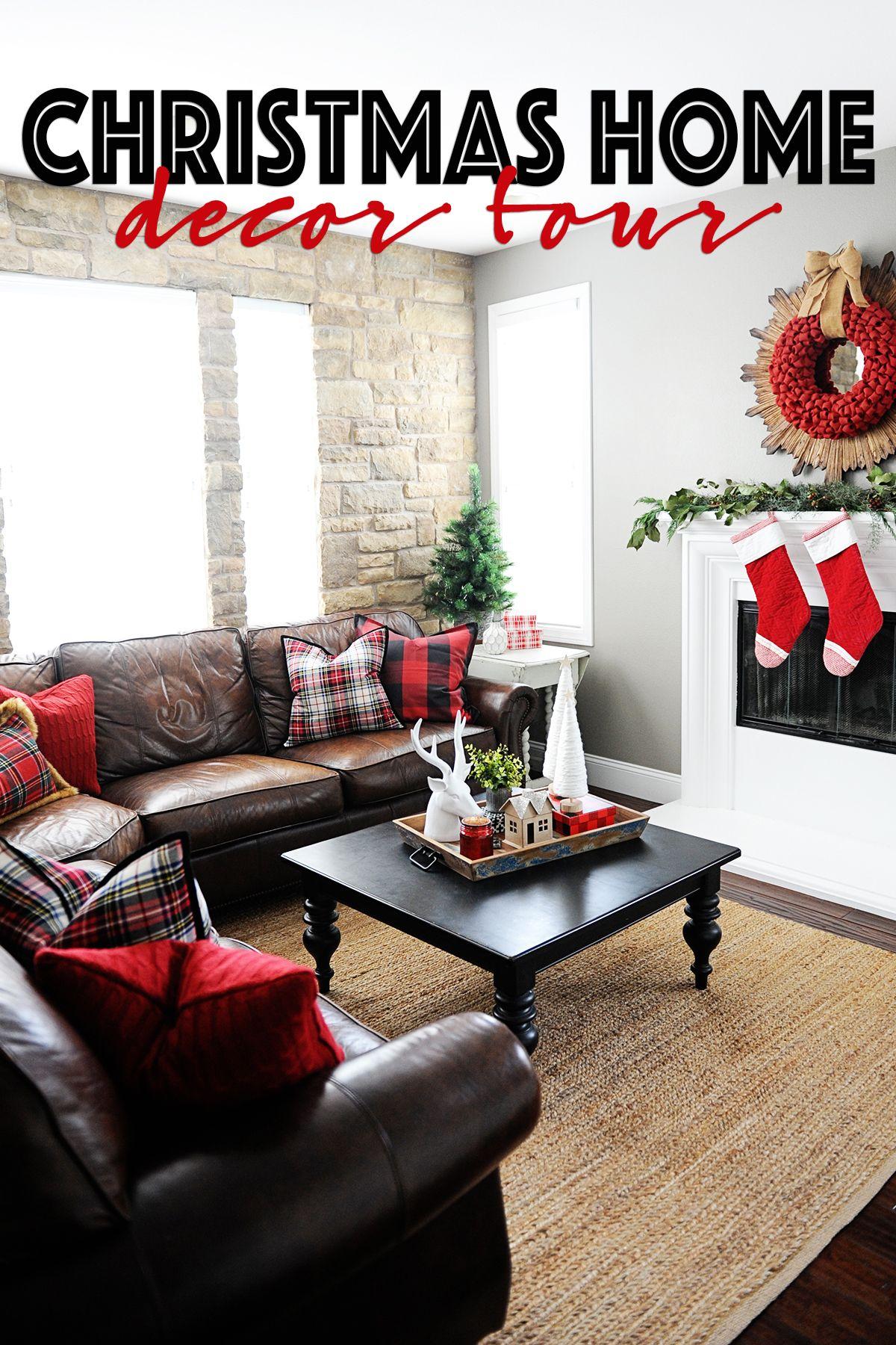Christmas Home Decor Our Christmas Home Tour Holiday Coffee Table Decor Christmas Home Decor