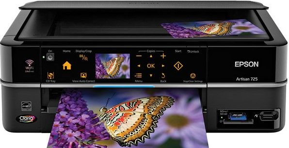 Epson Artisan 725 Printer Drivers for Windows Download