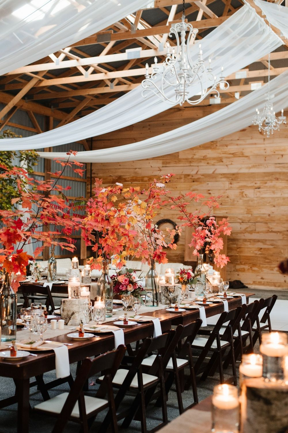 Wedding decorations rustic october 2018 The Rustic Chic Fall Wedding of our Pinterest Dreams in