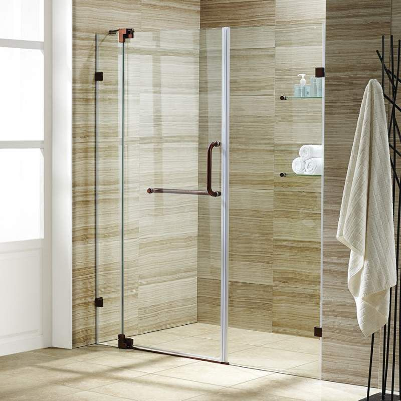 Vigo Vg604248 Frameless Shower Doors Frameless Shower Shower Doors