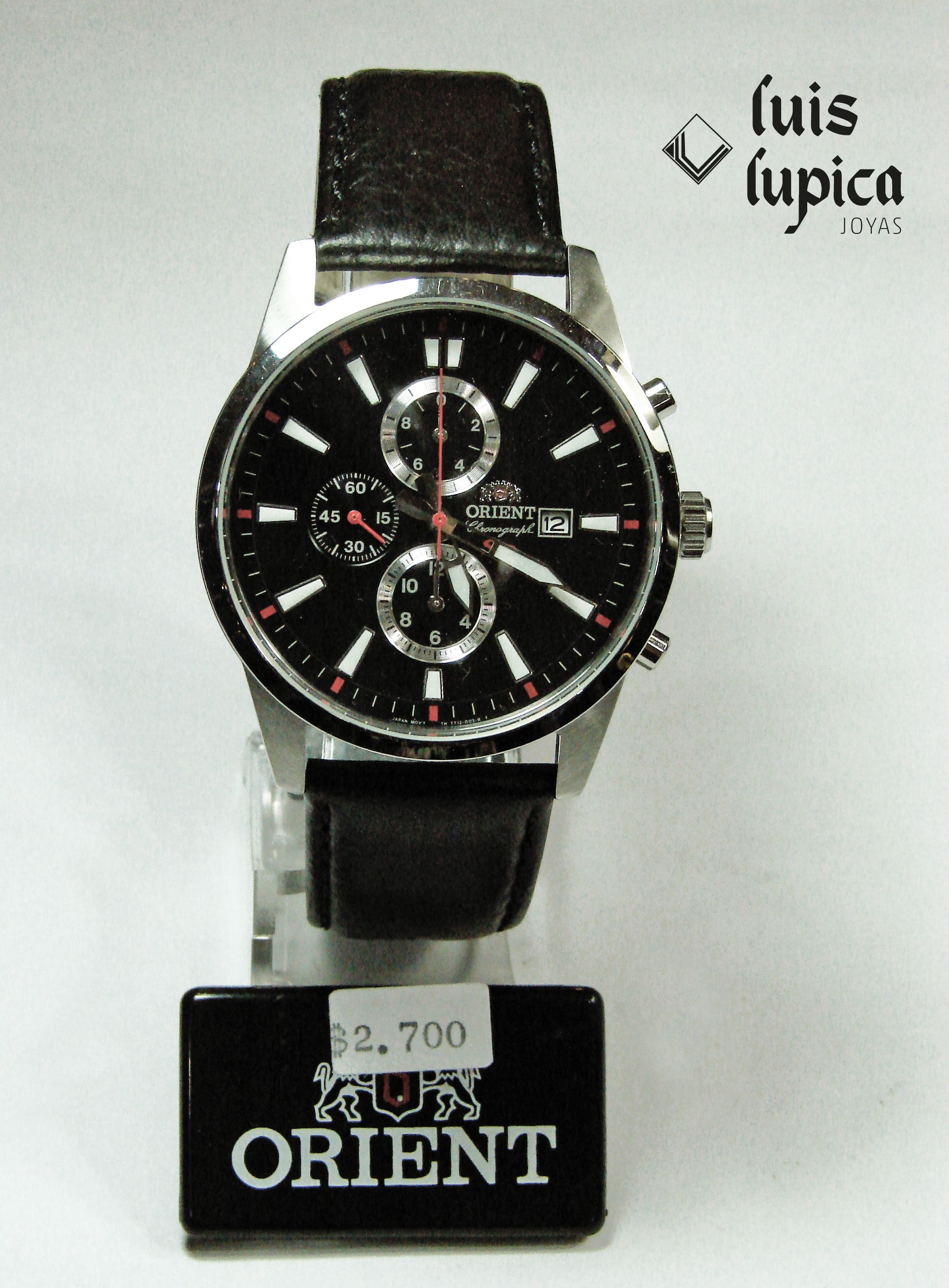 Reloj Orient. Adquirilo en Local Comercial calle  TUCUMÁN 51 ... 28672a8afdfb