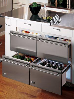 Choosing Undercounter Refrigeration Refrigerator Drawers Vs Undercounter Refrigerators Kitchen Design Trends Modern Kitchen Design Outdoor Kitchen Appliances