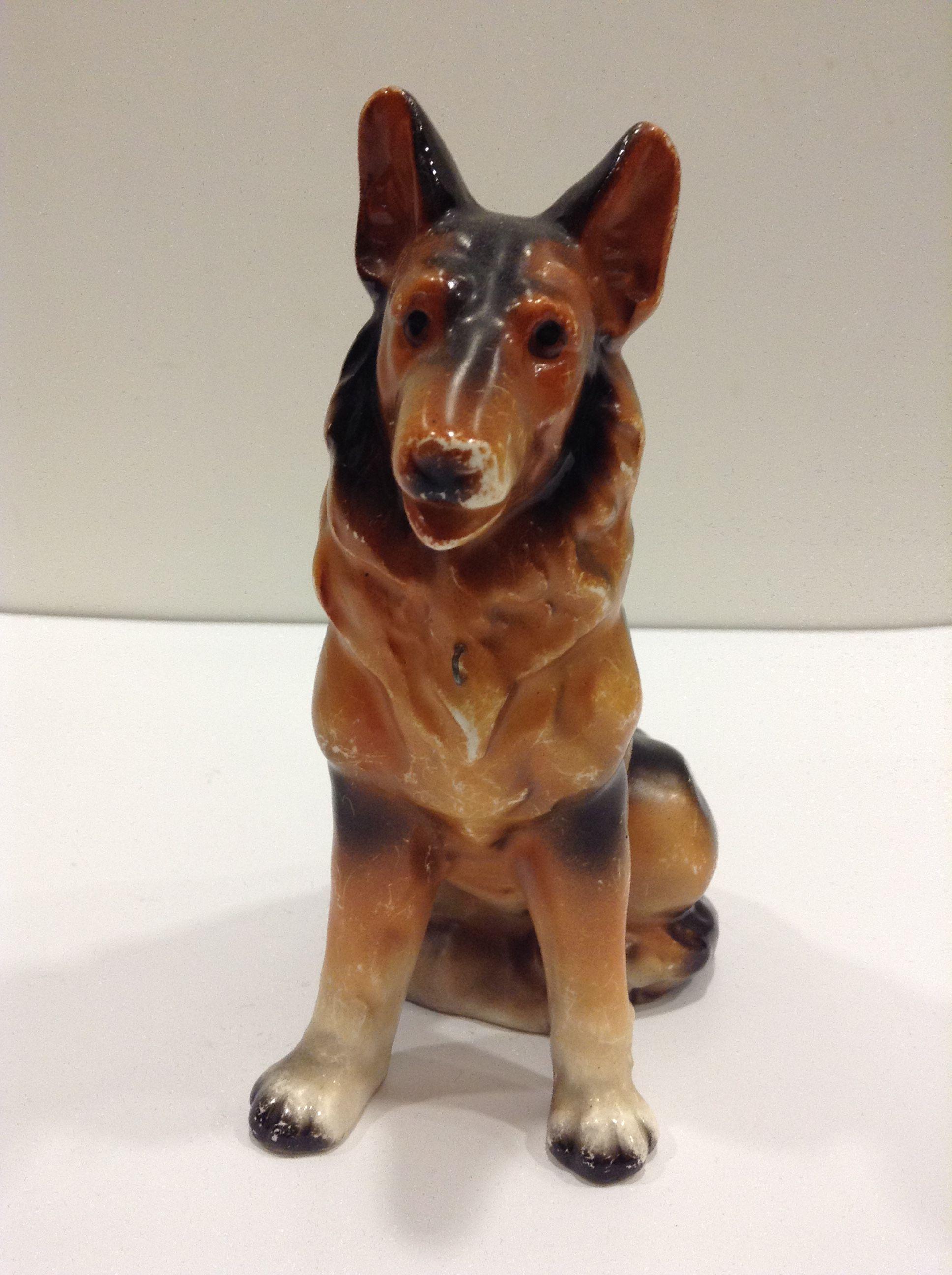 Vintage dog figurine