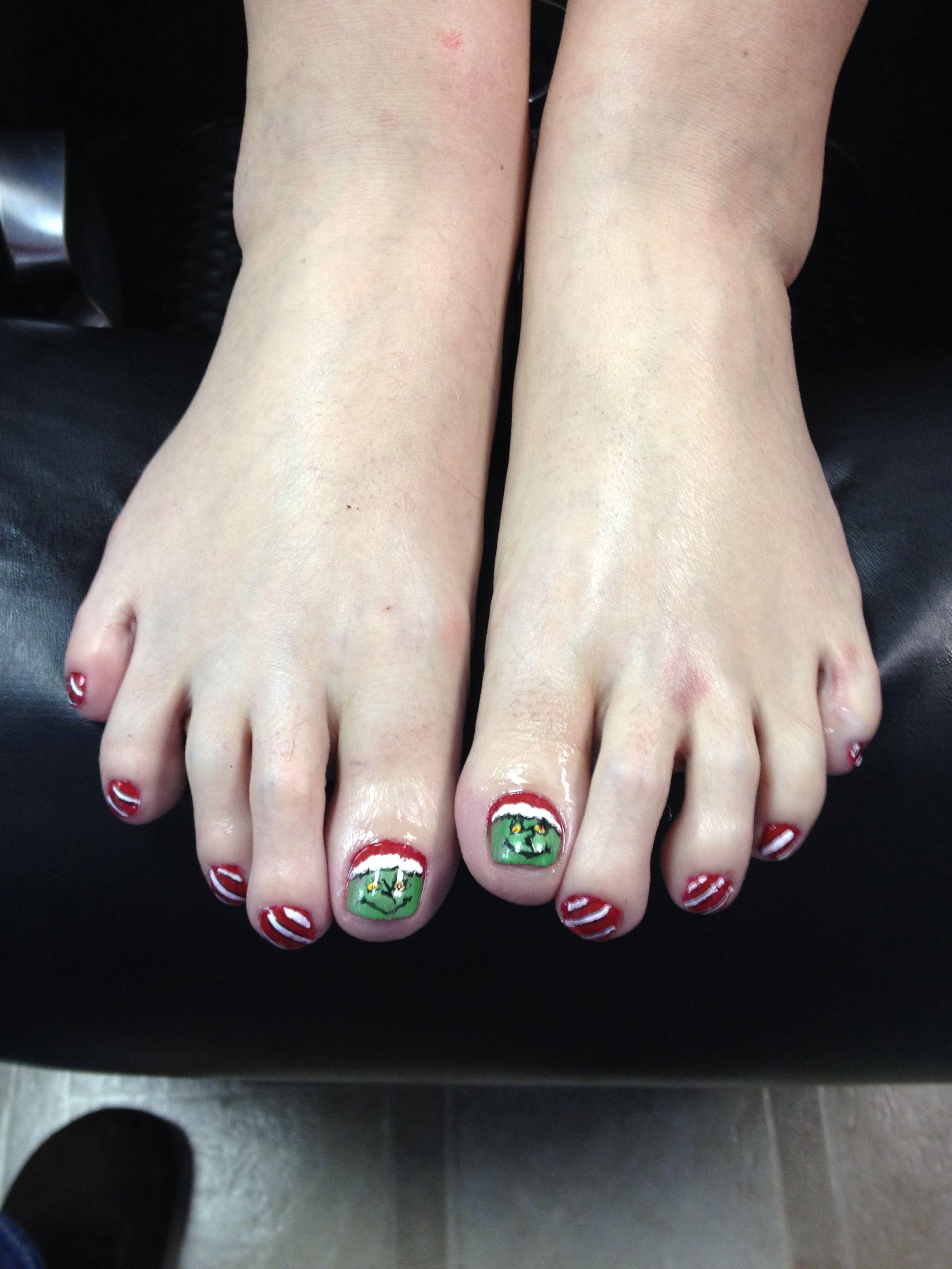 grinch toes | My portfolio | Pinterest | Grinch