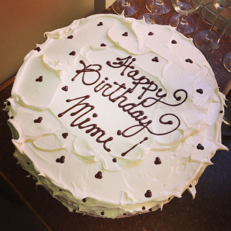Miraculous Happy Birthday Mimi Birthday Cake Cake Birthday Birthday Cards Printable Nowaargucafe Filternl