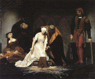 The execution of Lady Jane Grey, Paul Delaroche WKPD 12 February, 1554