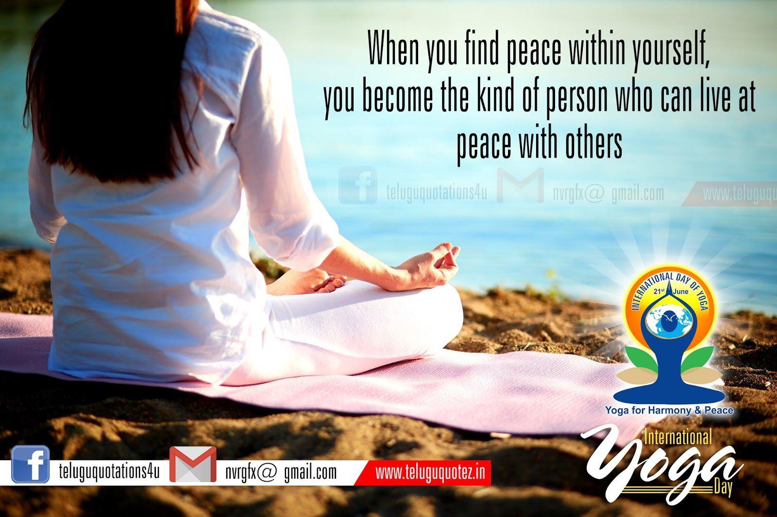 yoga inspirational quotes and sayings hd wallpapers yoga
