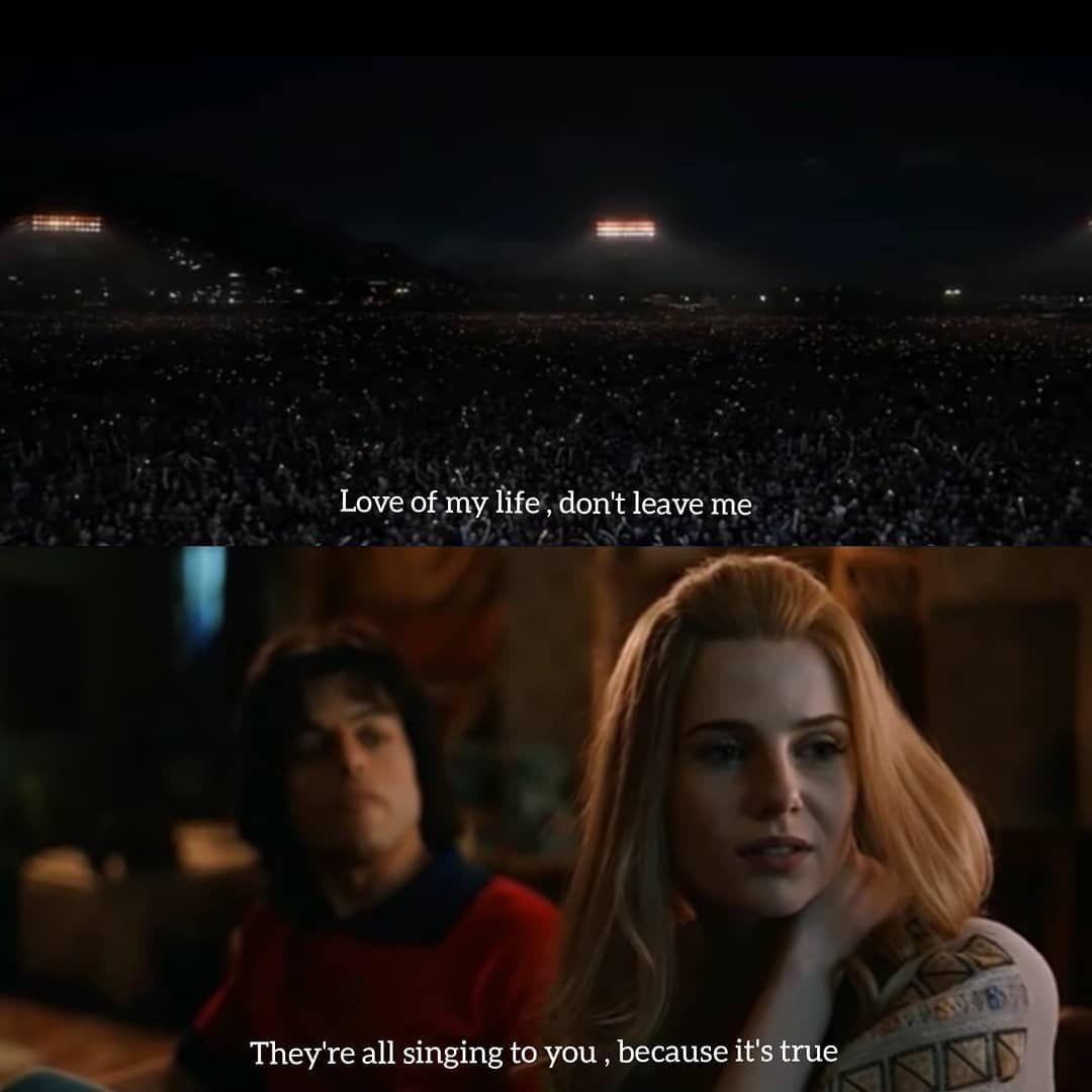 Bohemian Rhapsody 2019 Bohemianrhapsody Bohemianrhapsodymovie Bohemianrhapsodyquotes 90smovies Aestheticquotes Bohemian Rhapsody Movie Quotes Movies